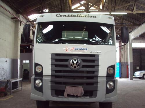 caminhão volkswagen 31-320 e constellation 6x4 3-eixos