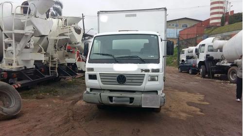 caminhão volkswagen 7110 baú ano 2004 boa mecanica