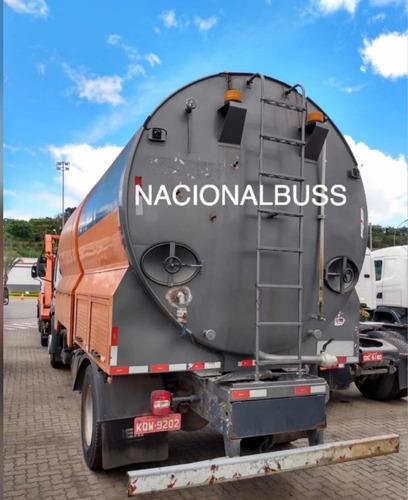 caminhão volkswagen lavador de container