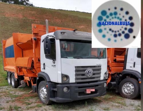 caminhão  volkswagen vw 24280 compactador