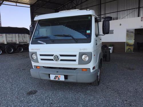 caminhão volkswagen vw 9.150 chassi 2012, 4x2 3/4 muito novo