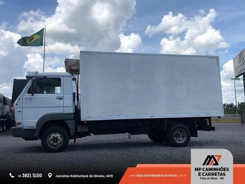 caminhão volkswagen vw baú furgão 8-150 2011
