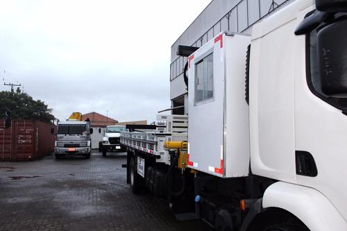 caminhão volvo 270 ano 2012/2012 único dono com munck 15.000