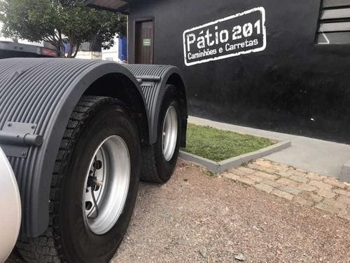 caminhão volvo fh 460 6x4 traçado canelinha plano ouro