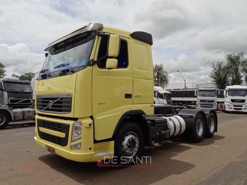 caminhão volvo fh 460 ano 2013/13 6x2 automático