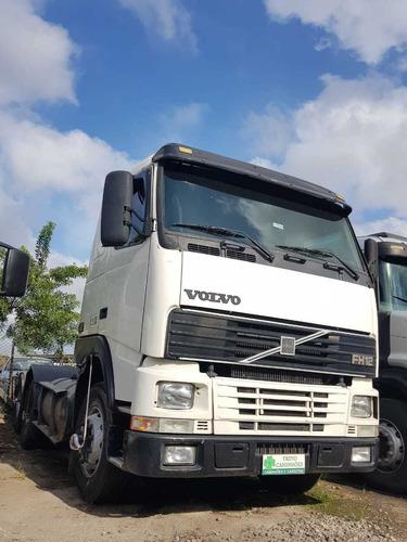 caminhão volvo fh12 380 - motor novo
