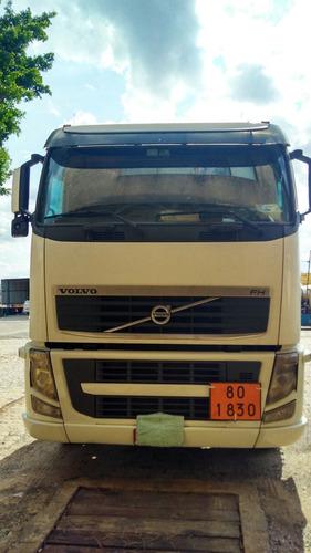 caminhão volvo fh12 440 cx. automática 6x2 ano 2010