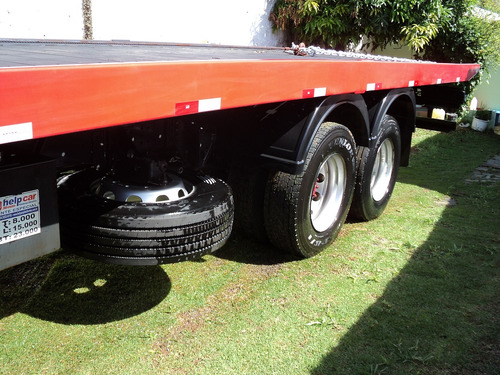 caminhão volvo vm 270 bitruck 8x2 plataforma 10 mts