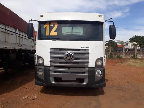 caminhão vw 13190 c/ tanque pipa + bomba 7.000 litros 2012