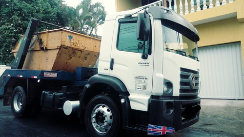 caminhão vw 15.190 ano: 13/14 com vaga prefeitura bh