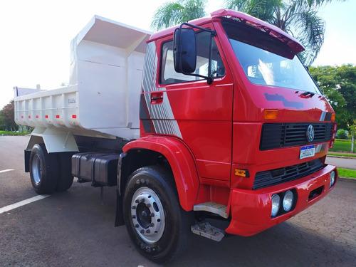 caminhão vw 16-210 toco caçamba