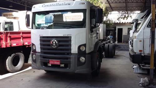 caminhão  vw 24250 2011/12 no chassis