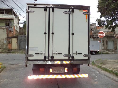 caminhão vw-5140 2008/2009 bau refrigerado -15°