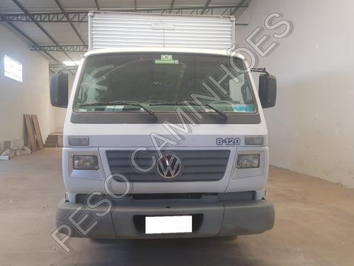 caminhão vw 8-120 2004 baú