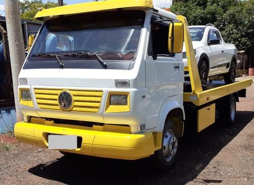 caminhão vw 8.120 ano 2009 guincho plataforma