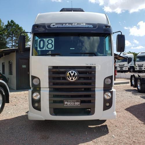 caminhão vw constellation 19.320 2008  cavalo 4x2 toco volks
