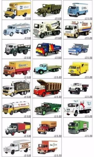 caminhões brasileiros scania lks 140 betoneira 1/43