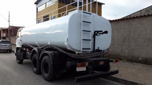 caminhões pipa 2726 6x4 / 31-320 6x4  gascom / lda /