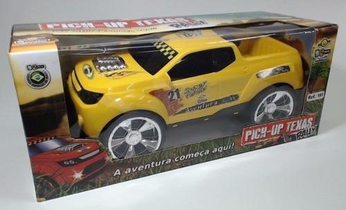 caminhonete de brinquedo pick up texas rally pick-up s/juros