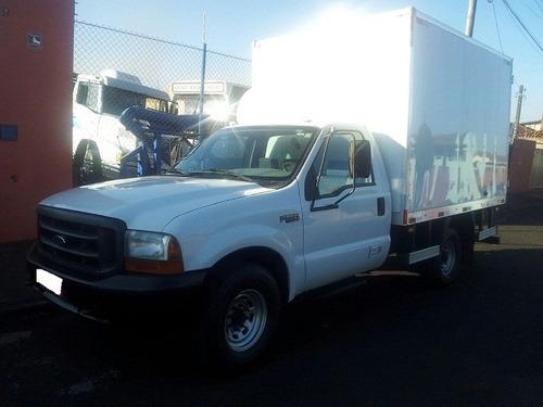 caminhonete f-350 com baú/batatais caminhões