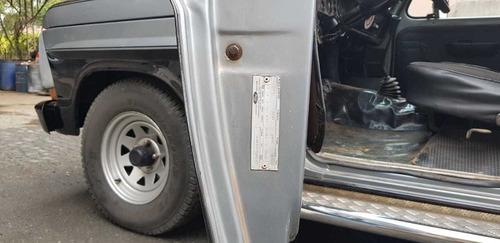 caminhonete f1000 4x2 único dono boa conservação ano 1984