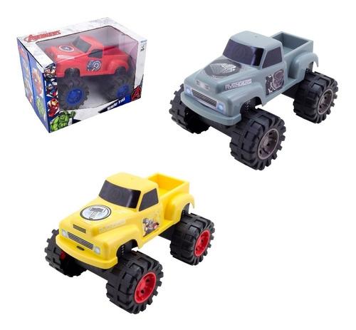caminhonete vingadores infantil monster truck avengers