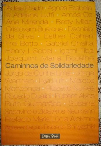 caminhos da solidariedade  vários autores