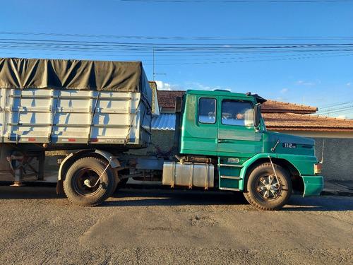 caminhão(scania t112 hs1987+ carreta randon (1997)=r$85.000