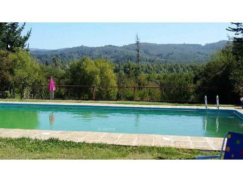 camino a santa juana, restorán con casa y piscina
