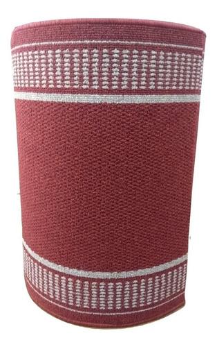 camino de alfombra boucle con orillado en laterales 0.67mts