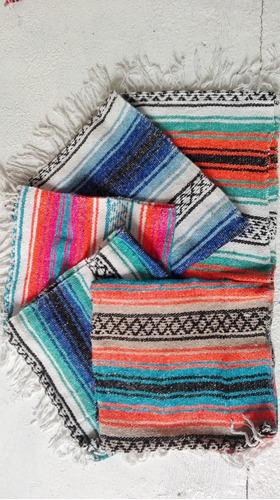 camino de mesa estilo mexicano 30 cm x 1.80 mt (7pack)