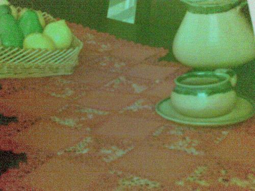 camino de mesa majestuoso tejido a mano