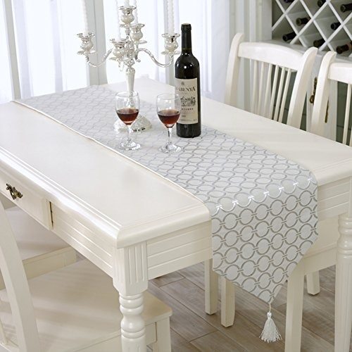 Camino de mesa moderno cl sico con puntos para boda y for Camino mesa moderno