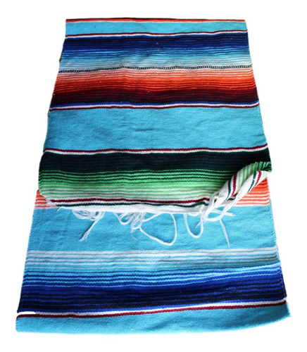 camino de mesa sarape mexicano 37 cms x 2.10 mt (20 pack)
