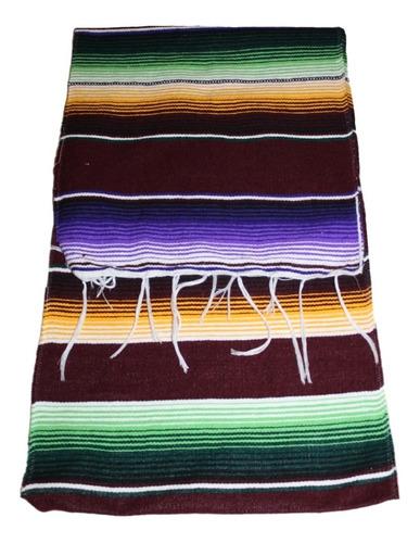 camino de mesa sarape mexicano 37 cms x 2.10 mt (70 pack)