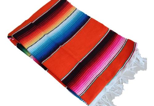 camino de mesa sarape mexicano 60 cms x 1.40 mt