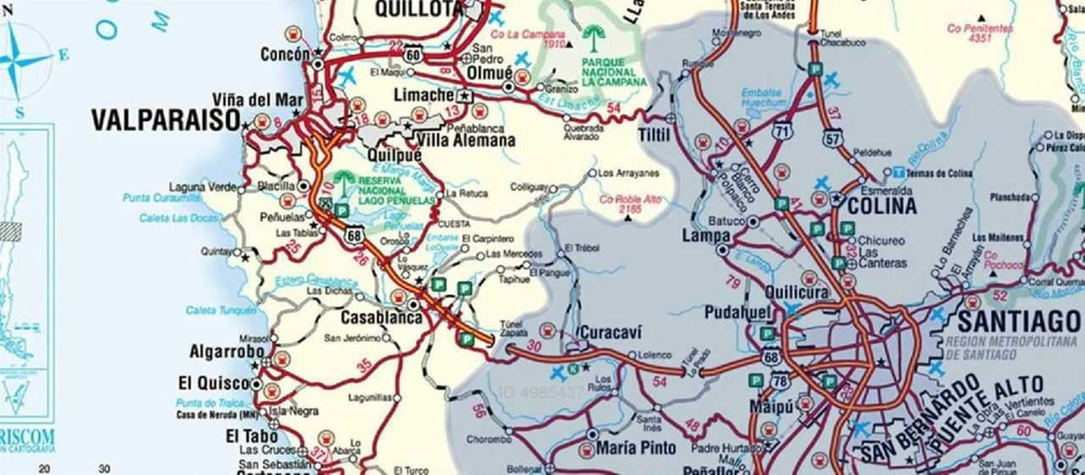 camino lo orozco, km 10,6, casablanca (f