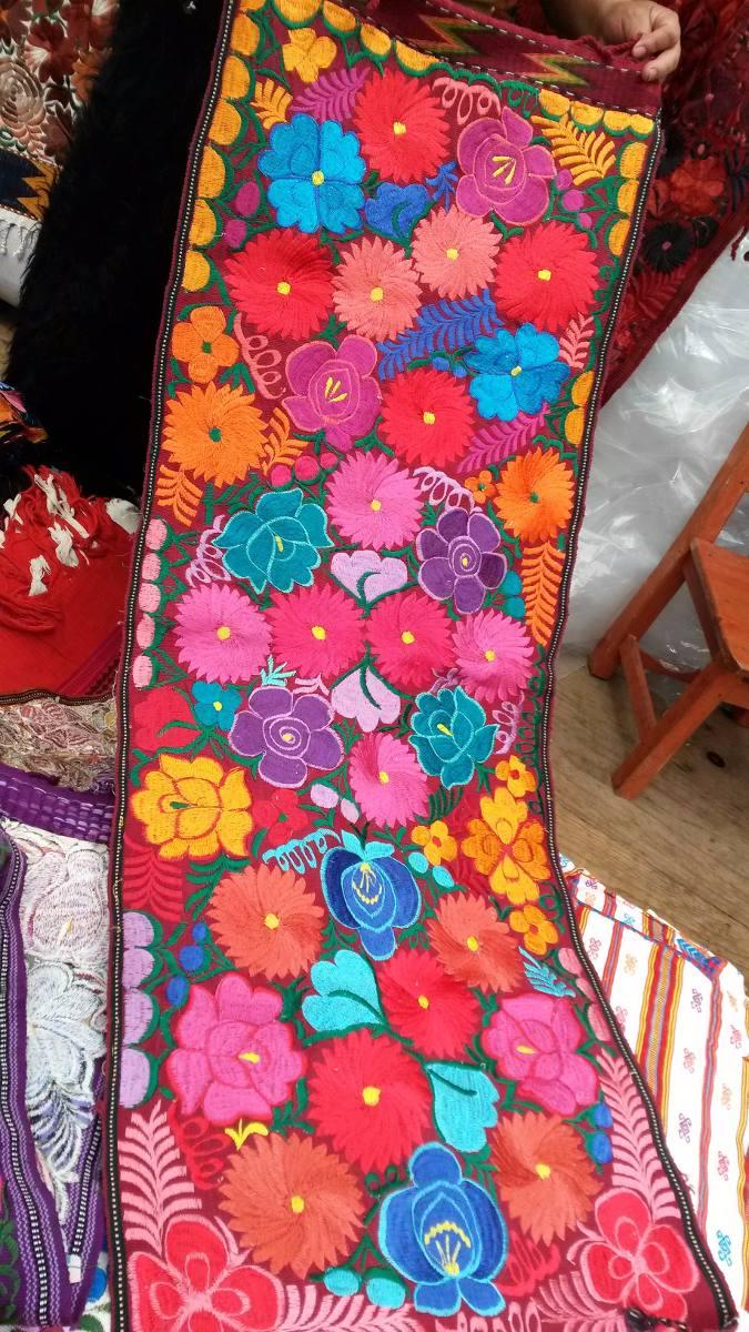 Caminos de mesa cama hechos a telar bordados a mano - Caminos de mesa originales ...