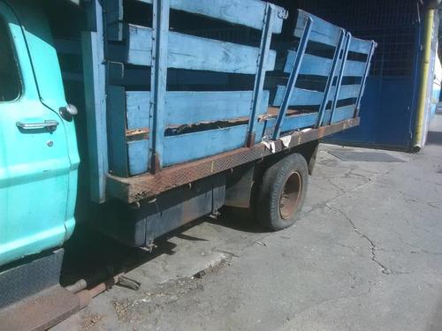 camion 750 ford f-600 año 69 plataforma con barandas