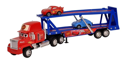 camion a friccion cars mack truck carrier ditoys original