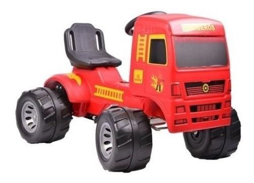 camion a pedal cadena super truck bombero rodacross  2a7 año