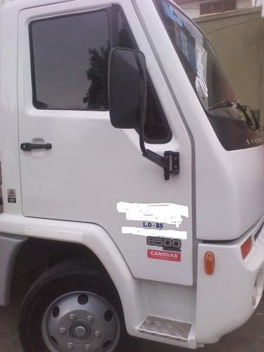 camion agrale 8500 año 2015 con caja furgon 8 puertas latera