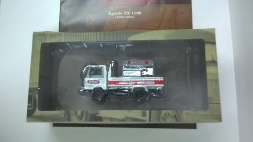 camion agrale tx 1100 ixo  1 43 colección brasil 12cm divino