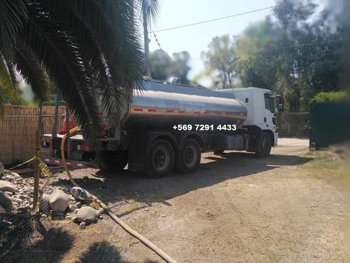 camion aljibe agua potable