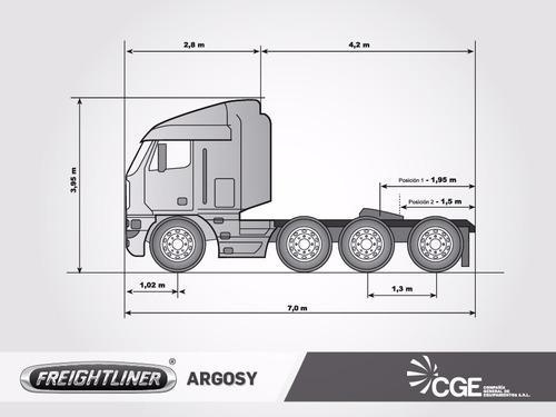 camion americano freightliner argosy 2007 / aptos bitren