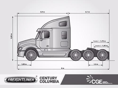 camion americano freightliner columbia 2002