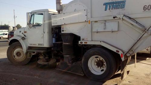 camión barredora aspiradora tymco precio neto