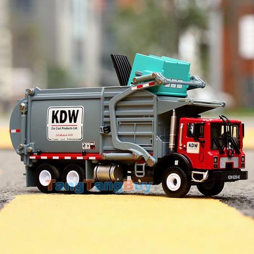 camion basurero escala 1:24 no caterpillar