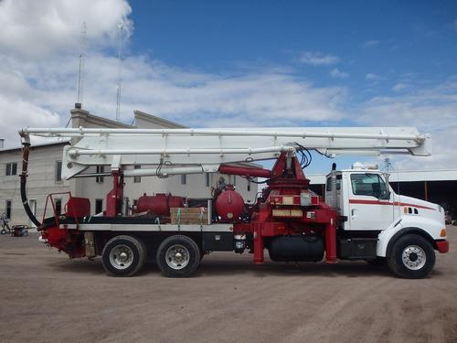 camión bomba para concreto para 30 mt, cemento hormigonera