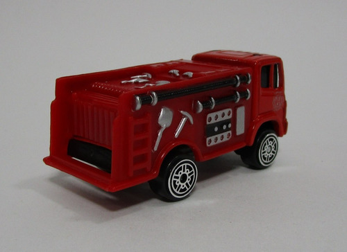 camion bombero bomberos escala 7cm largo coleccion maisto